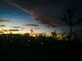 Joshua Tree rain storm.
